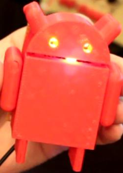 ATTiny-85 Meets Android Doll
